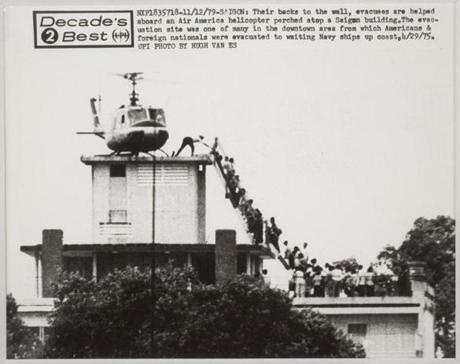 The evacuation of Saigon.